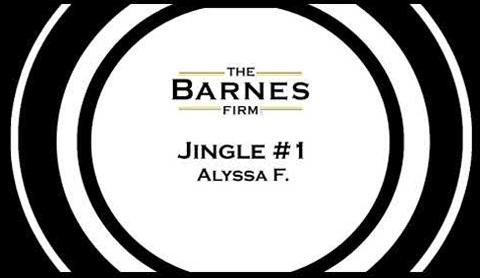The barnes firm jingle contest top 20 - jingle #1 Alyssa F