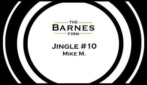 The barnes firm jingle contest top 20 - jingle #10 mike m