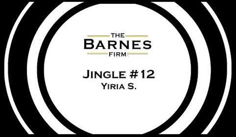The barnes firm jingle contest top 20 - jingle #12 yiria s