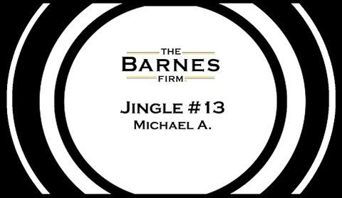 The barnes firm jingle contest top 20 - jingle #13 michael a