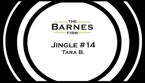 The barnes firm jingle contest top 20 - jingle #14 tara b.