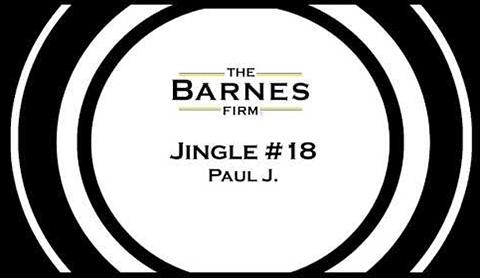 The barnes firm jingle contest top 20 - jingle #18 Paul J