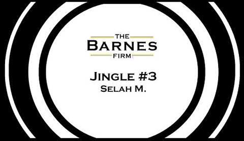 The barnes firm jingle contest top 20 - jingle #3 selah m.