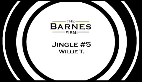 The barnes firm jingle contest top 20 - jingle #5 willie t