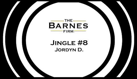 The barnes firm jingle contest top 20 - jingle #8 jordyn d grand prize winner