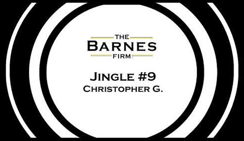 The barnes firm jingle contest top 20 - jingle #9 christopher g