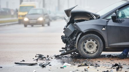 Injury after an automobile accident